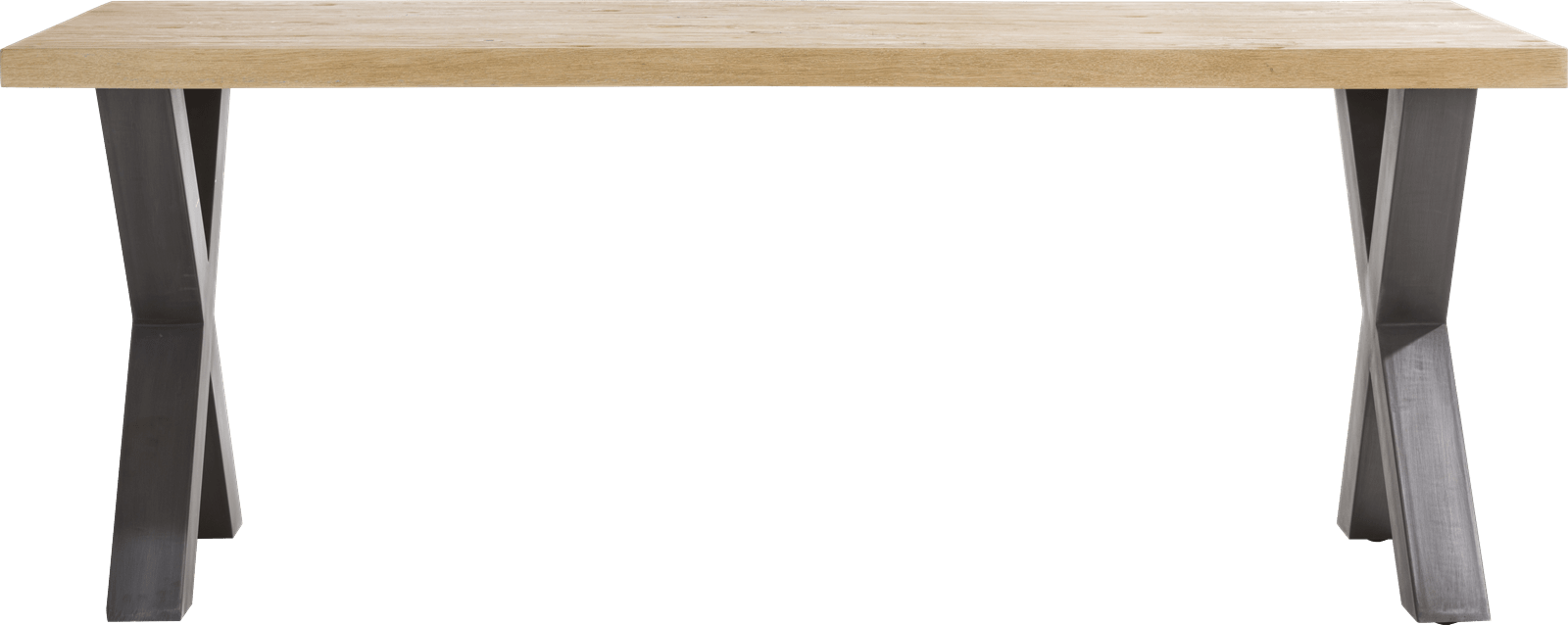 Henders & Hazel - Metalox - Industrie - tisch 200 x 100 cm