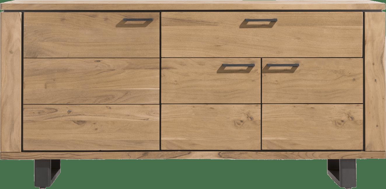 Henders & Hazel - Quebec - Natuurlijk - dressoir 180 cm - 3-deuren + 1-lade