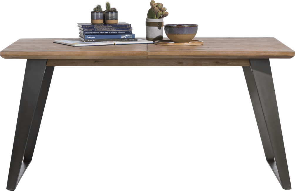 Henders & Hazel - Box - Modern - ausziehtisch 190 (+ 60) x 100 cm - fuss viereckig