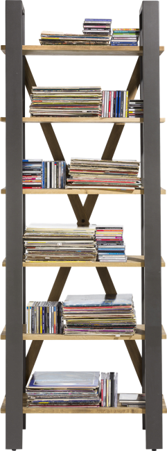 Henders and Hazel - Farmland - Landelijk - boekenkast 75 cm - 6-niches