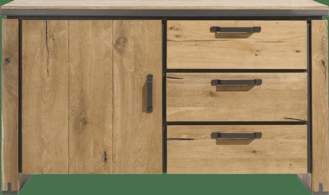Henders and Hazel - Farmland - Landelijk - dressoir 150 cm - 1-deur + 3-laden (onderkast van 39620)
