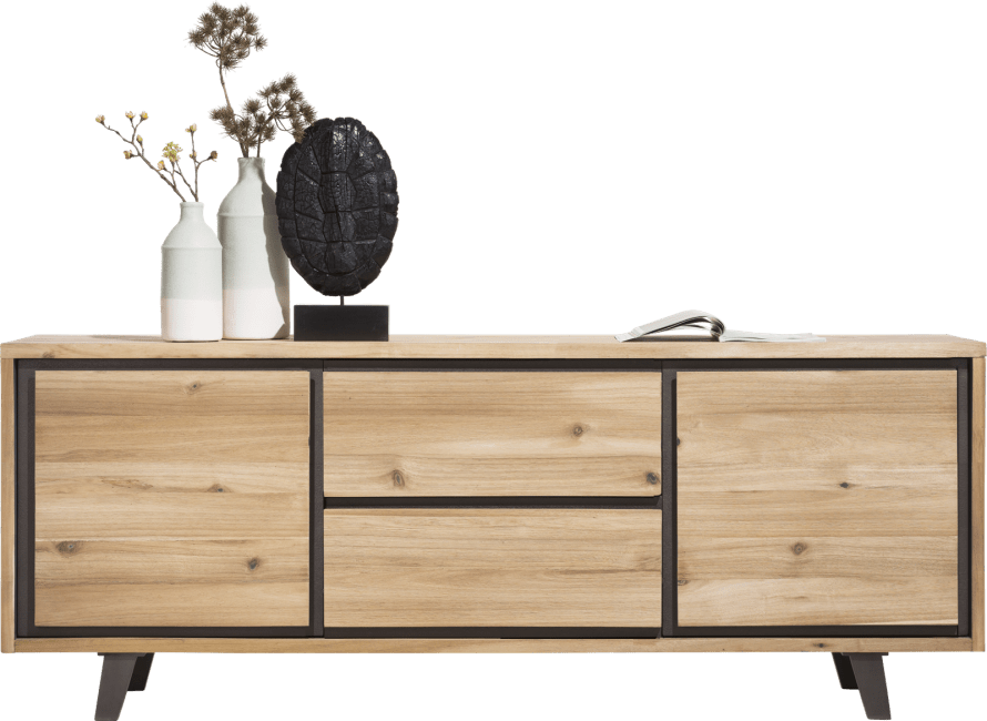 Henders and Hazel - Prato - Industrie - sideboard 210 cm - 2-tueren + 2-laden