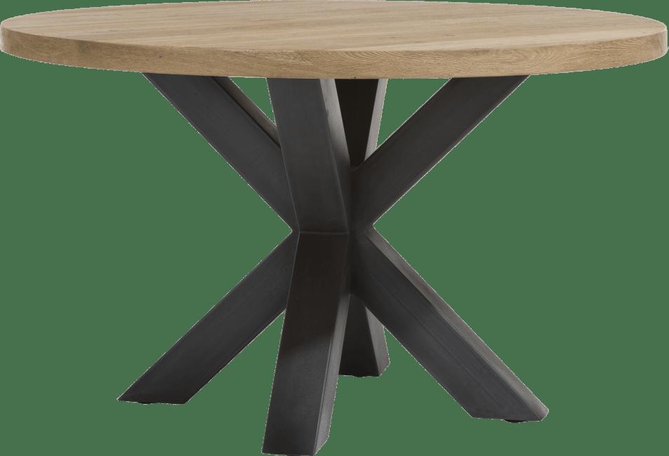 Henders and Hazel - Metalox - Industrieel - eetkamertafel rond 130 cm