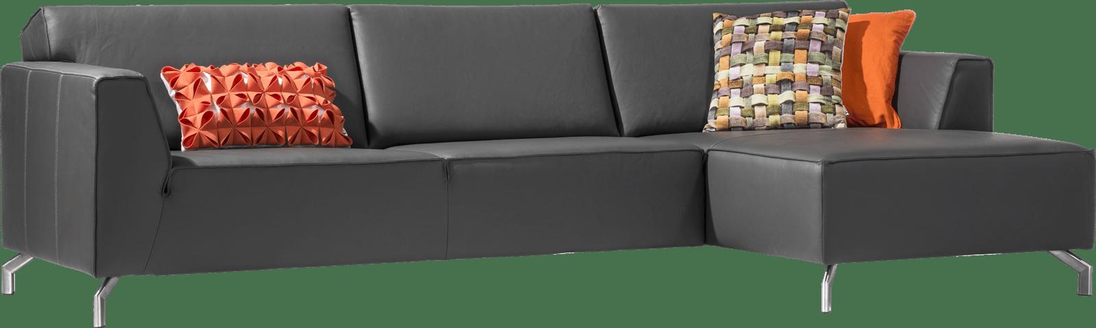 H&H - Novara - Moderne - 3-places + m ridienne droit