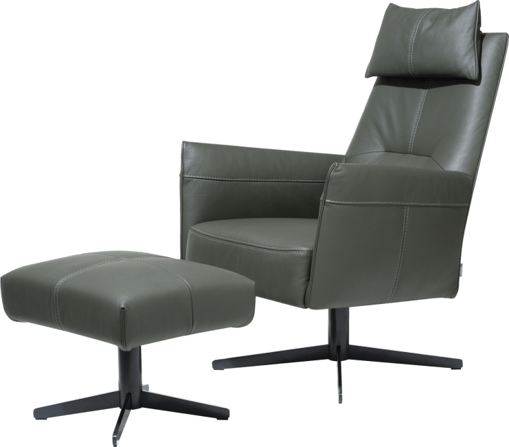 XOOON - Matera - Design minimaliste - Canapes - pouf