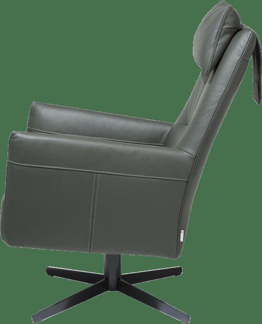 XOOON - Matera - Design minimaliste - fauteuil dossier haut