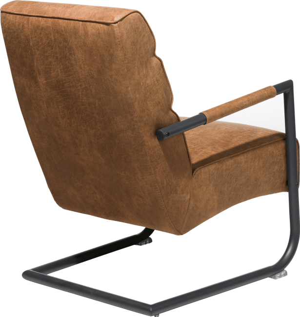 XOOON - Natal - Minimalistic design - easy chair - black frame