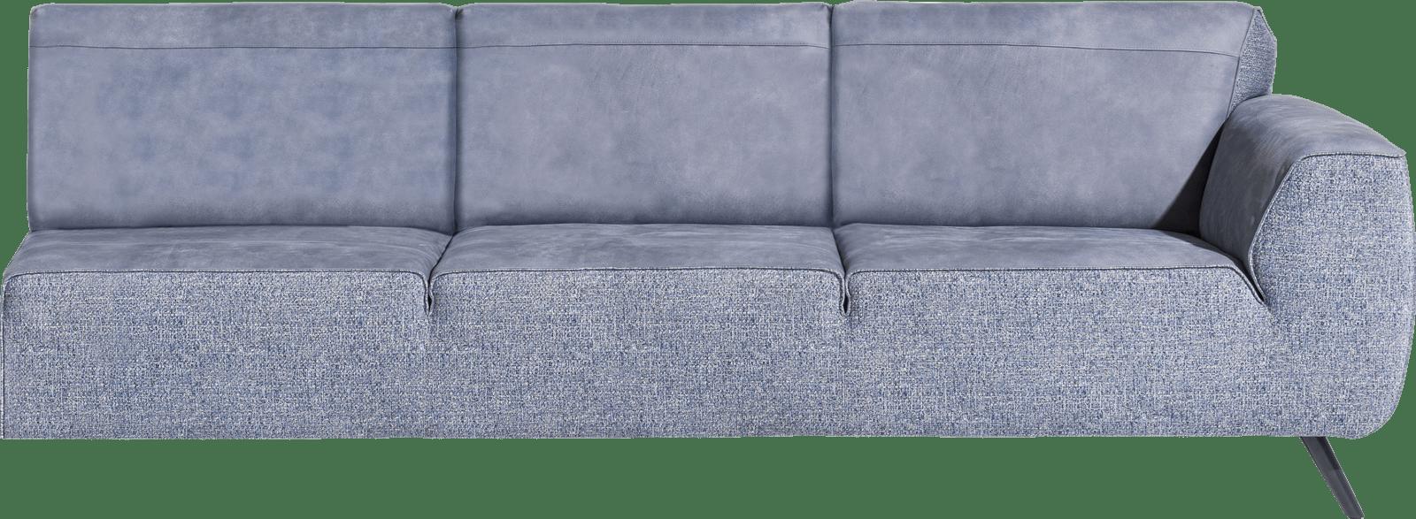 XOOON - Lima - Design minimaliste - Canapes - 4-places accoudoir droite