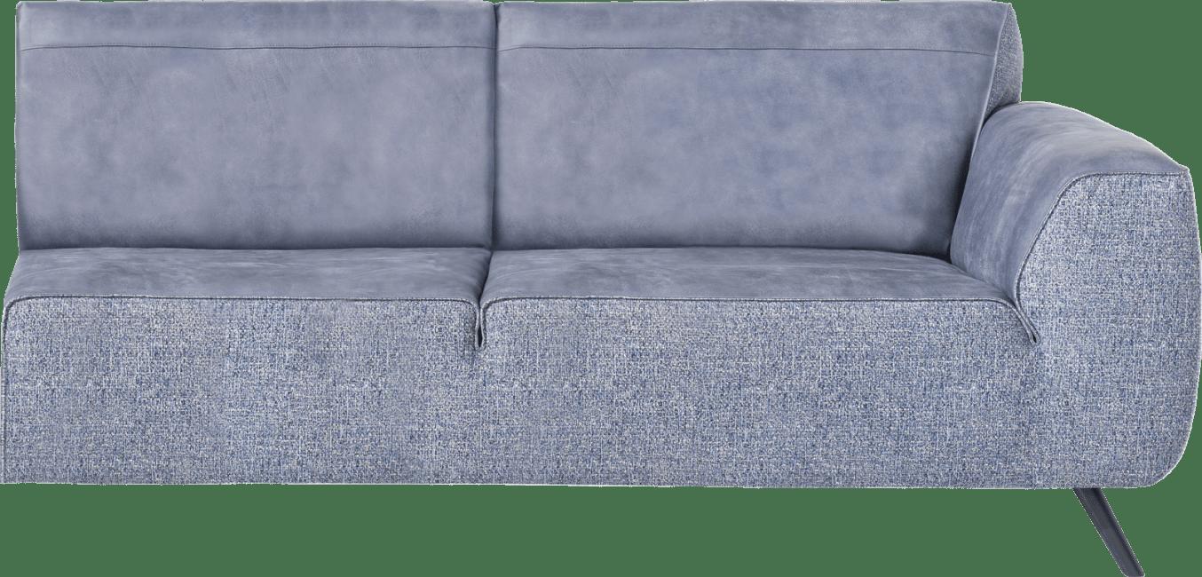XOOON - Lima - Minimalistisches Design - 2.5-sitzer armlehne rechts