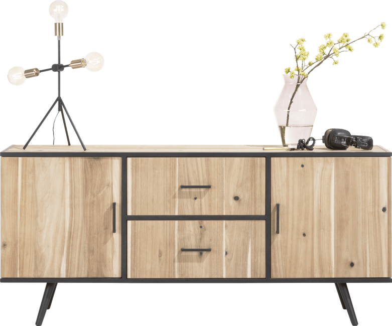 XOOON - Kinna - Skandinavisches Design - sideboard 180 cm - 2-tueren + 2-laden