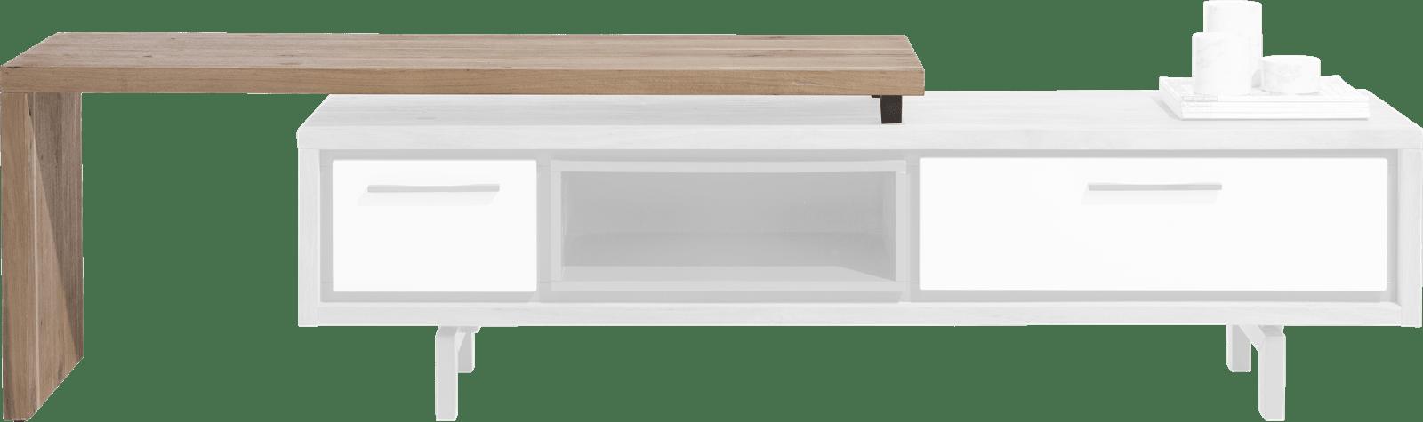 XOOON - Otta - Skandinavisches Design - tv-sideboard mit drehbare platte 140 cm - selbstmontage