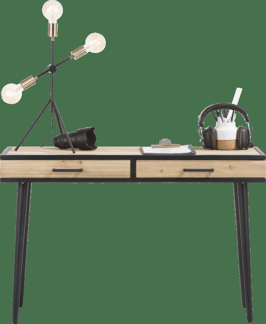XOOON - Kinna - Skandinavisches Design - wandtisch 120 x 40 cm + 2-laden ohne laden-geleiter