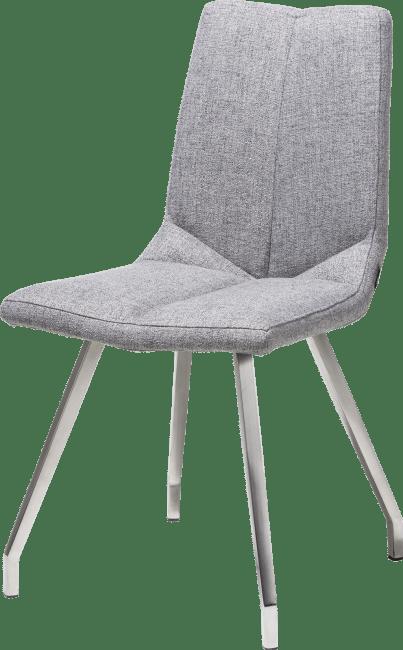 XOOON - Artella - Skandinavisches Design - stuhl 4 fuessen edelstahl - lady grau oder mint