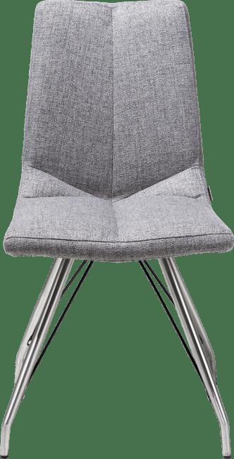 XOOON - Artella - design Scandinave - chaise pietement eiffel - lady gris ou mint