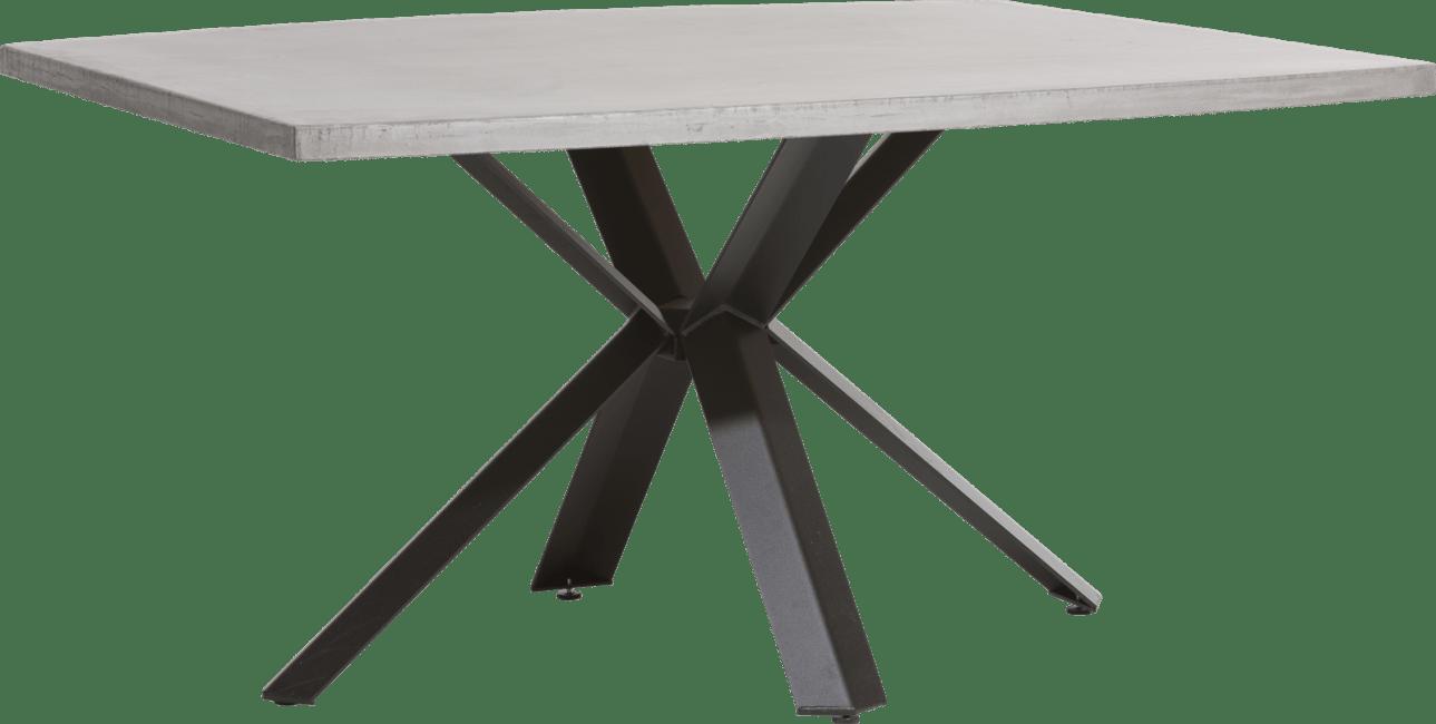 XOOON - Maddox - Industrie - tisch 150 x 130 cm - beton - stern fuss