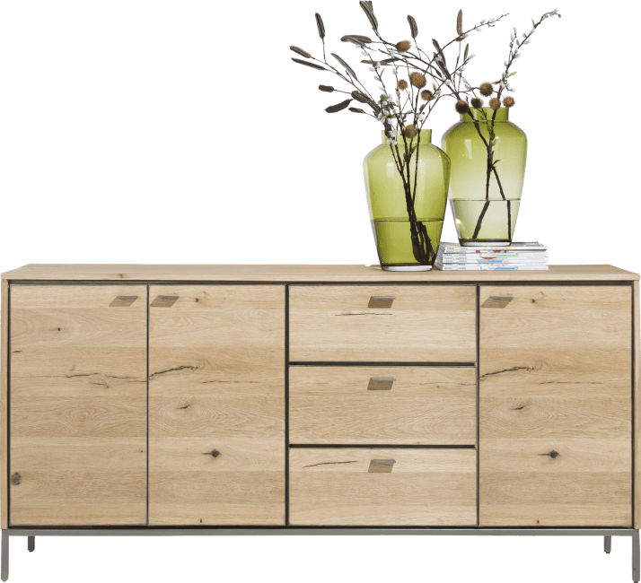 XOOON - Faneur - Scandinavian design - sideboard 180 cm - 3-doors + 3-drawers