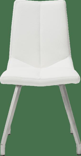 XOOON - Arto - design Scandinave - chaise inox 4-pieds