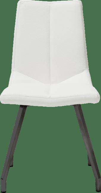 XOOON - Arto - design Scandinave - chaise noir 4 pieds