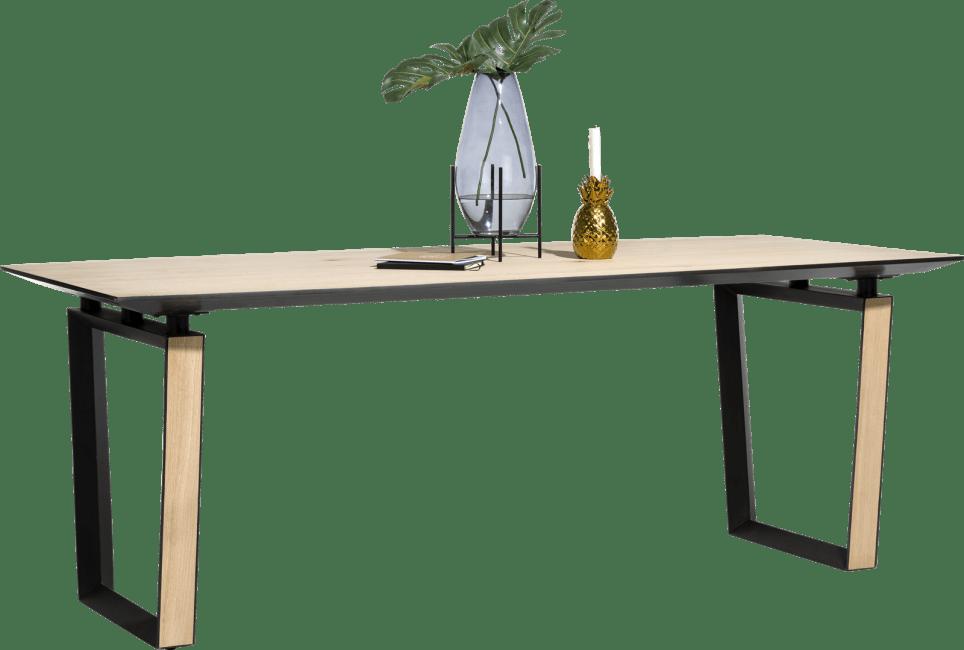 XOOON - Darwin - Minimalistisch design - eetkamertafel 210 x 100 cm