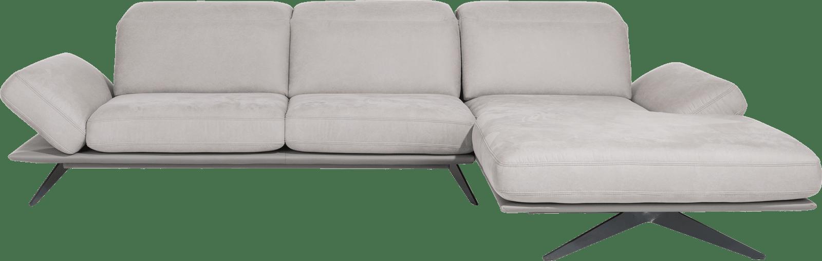 XOOON - Paxos - Design minimaliste - Toutes les canapés - 3-places accoudoir gauche