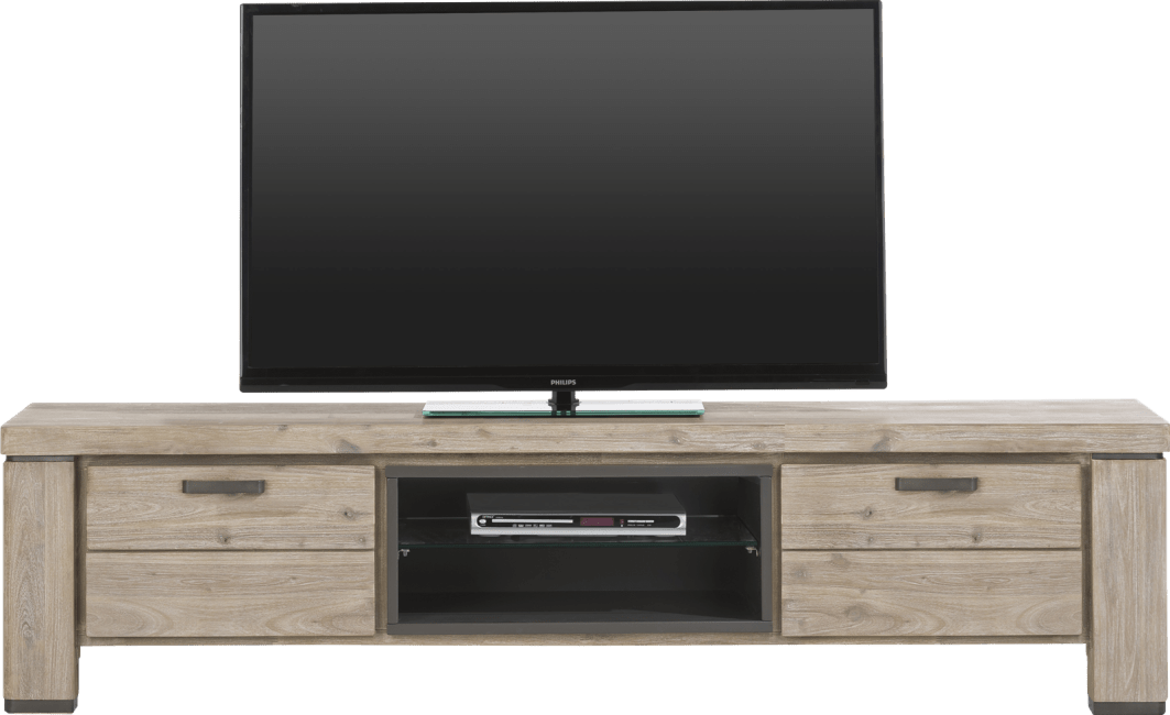 Happy@Home - Coiba - Modern - tv-dressoir 190 cm - 1-klep + 1-lade + 2-niches