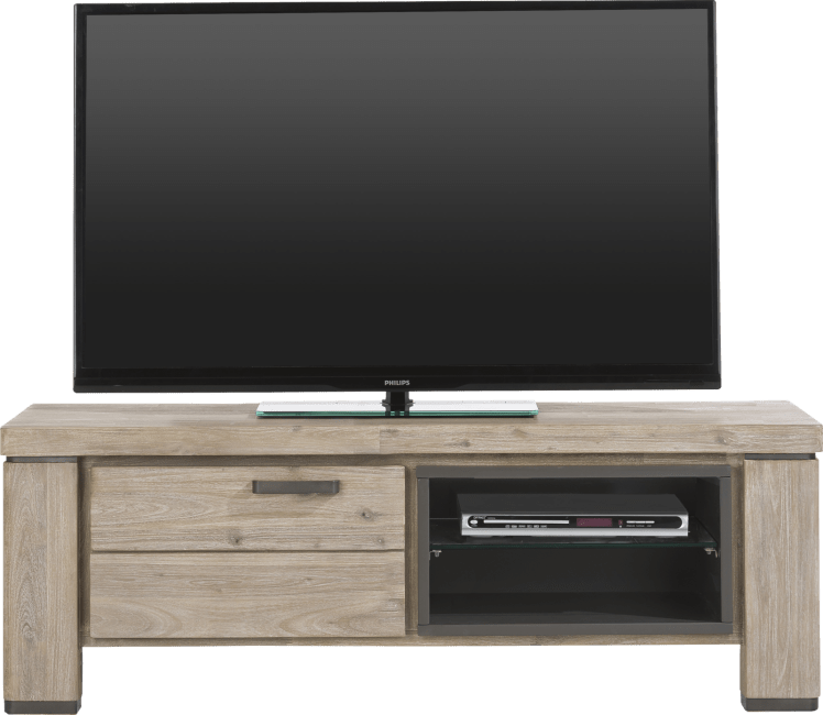Happy@Home - Coiba - Modern - tv-dressoir 130 cm - 1-klep + 2-niches
