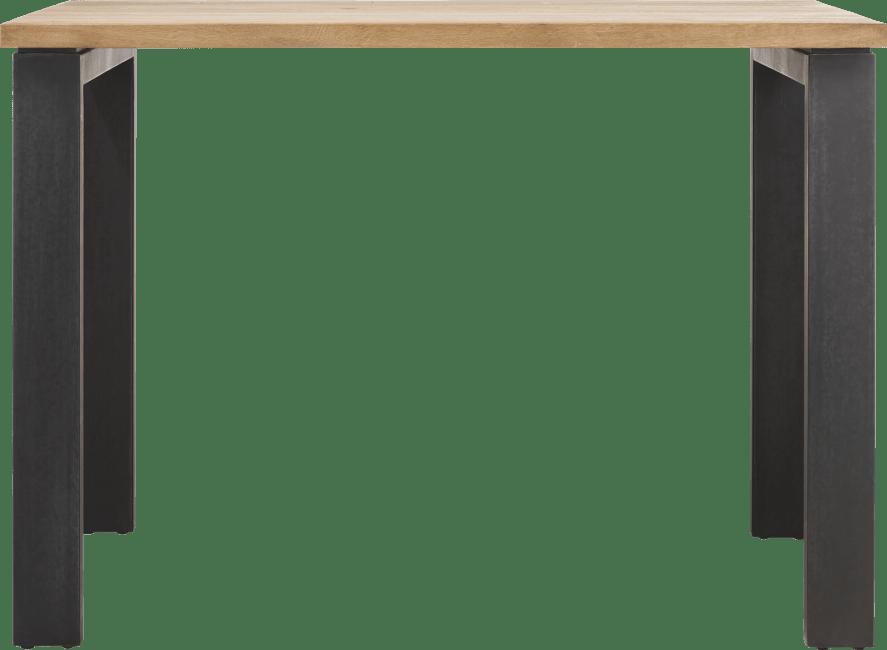 Happy@Home - Larissa - Natuurlijk - bartafel 130 x 90 cm (hoogte: 92 cm)