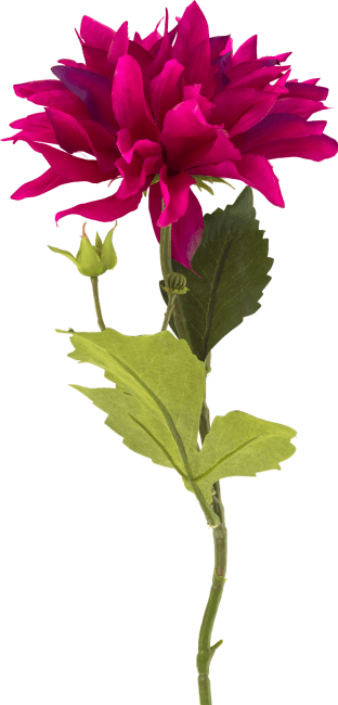 XOOON - Coco Maison - dahlia spray artificial flower h60cm