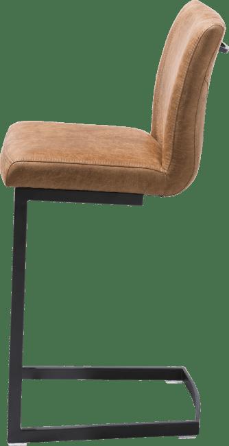 Happy@Home - Sofie - Industrieel - barstoel - zwart swing recht - greep recht