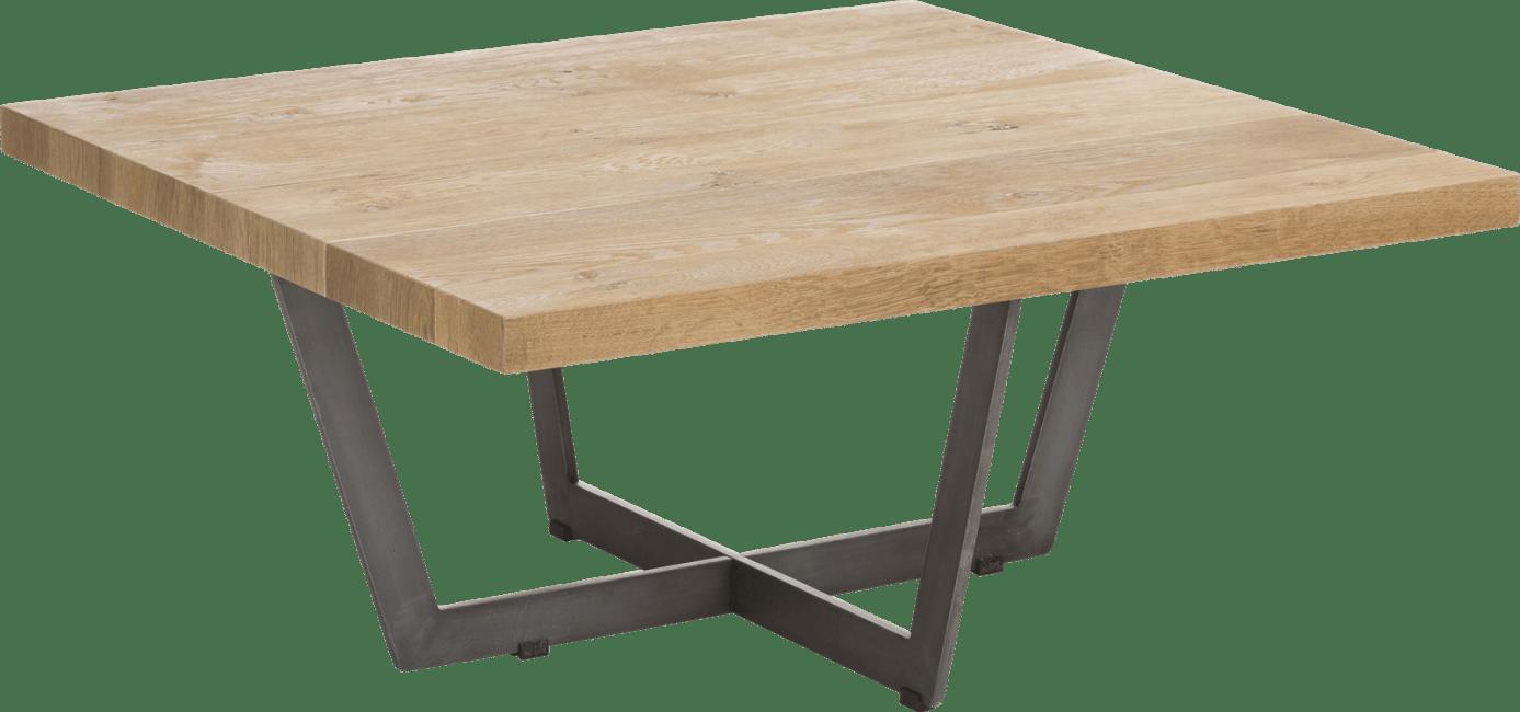 Happy@Home - Larissa - Natuurlijk - salontafel 80 x 80 cm