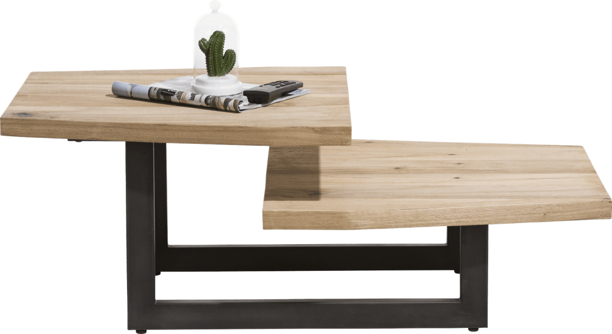 Happy@Home - La Cruz - Industrieel - salontafel 110 x 60 cm