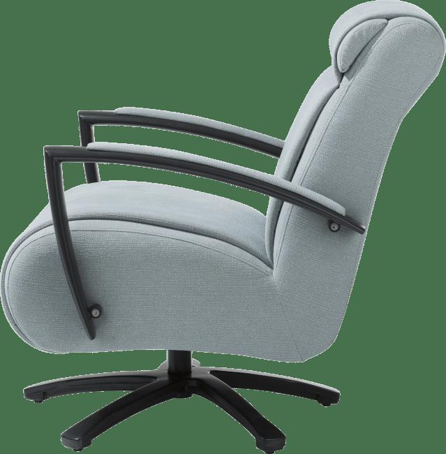 Happy@Home - Redlake - Modern - fauteuil met draaivoet - rvs of zwart
