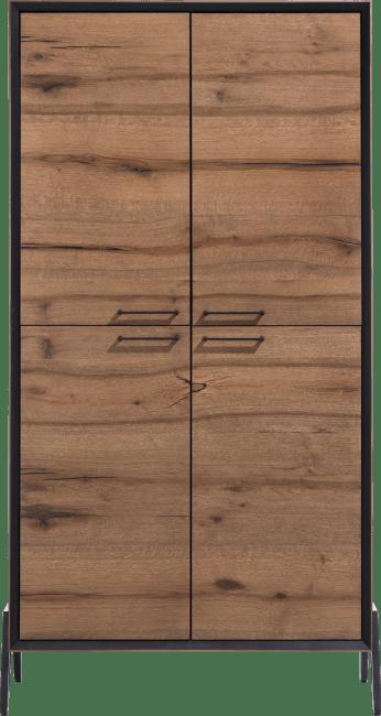 Happy@Home - Janella - Modern - bergkast 100 cm - 4-deuren