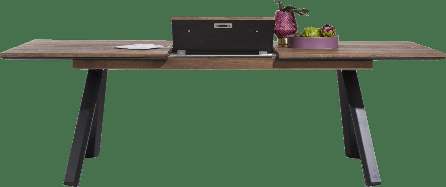Happy@Home - Janella - Modern - uitschuiftafel 190 (+ 60) x 100 cm