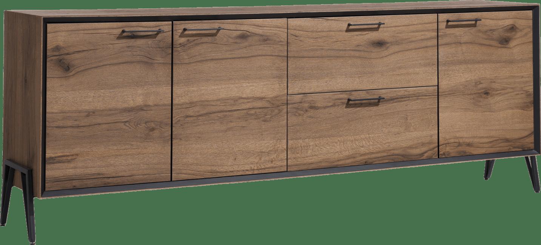 Happy@Home - Janella - Modern - dressoir 240 cm - 3-deuren + 2-laden (hoogte 88 cm)