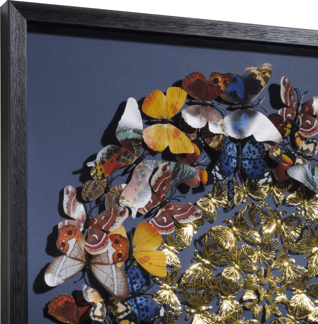 Happy@Home - Coco Maison - butterfly wandobject 60x60cm