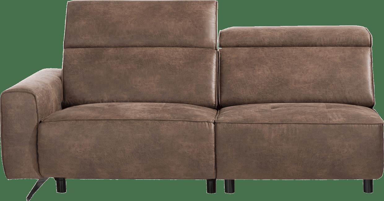 XOOON - Torbay - Industriel - Toutes les canapés - 2-places accoudoir gauche