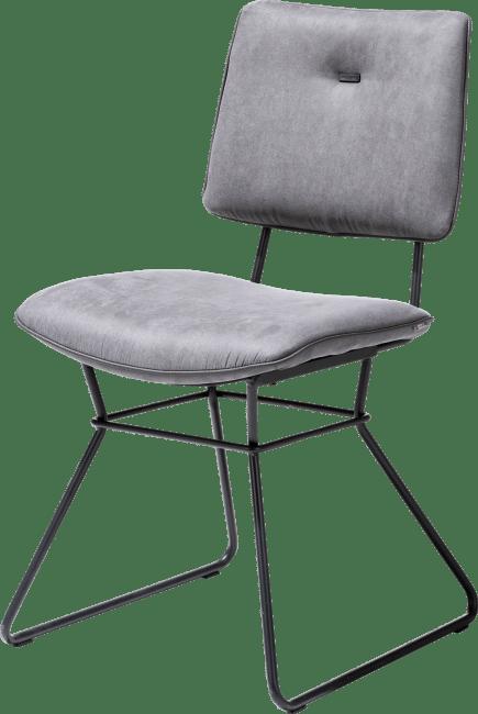 XOOON - Otis - design Scandinave - chaise - cadre noir - kibo