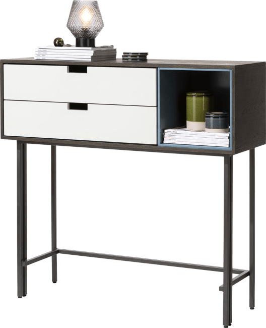 XOOON - Glasgow - Minimalistisches Design - sideboard hoch 113,5 cm - 2-laden + 1-box