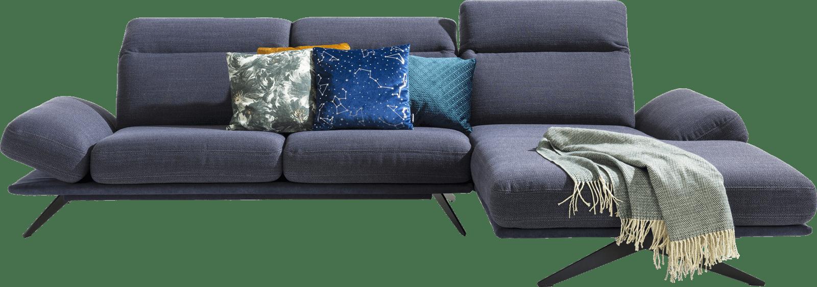XOOON - Paxos - Design minimaliste - 2.5-places accoudoir gauche