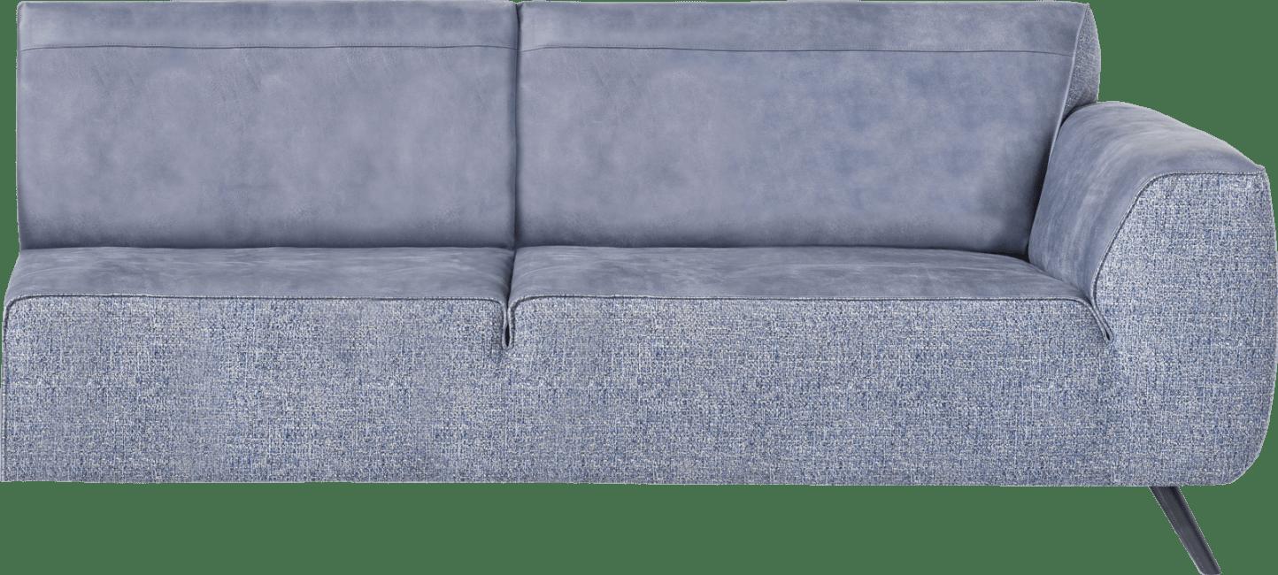 XOOON - Lima - Minimalistisches Design - Sofas - 3-sitzer armlehne rechts