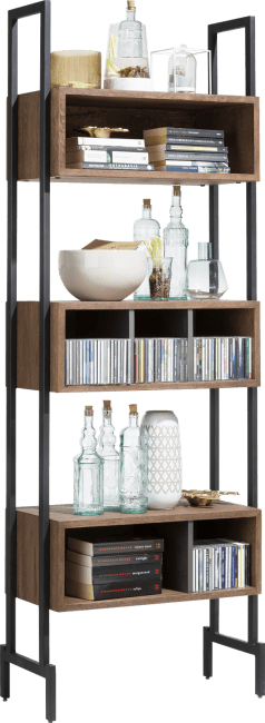 XOOON - Halmstad - Scandinavisch design - boekenkast 70 cm - 6-niches