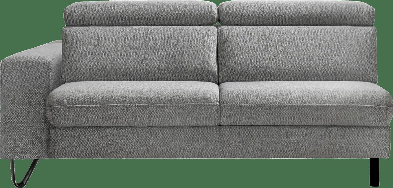 XOOON - Urban - Industriel - Toutes les canapés - 3-places accoudoir gauche