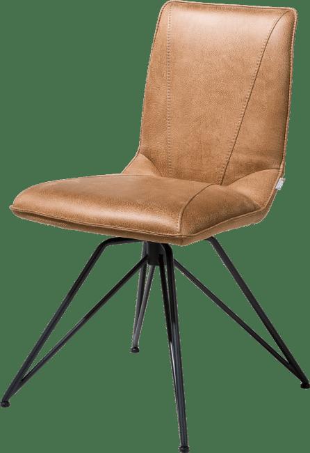 XOOON - Mac - Minimalistisches Design - stuhl - gestell off black - rocky + handgriff catania schwarz