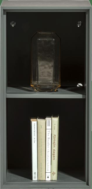 XOOON - Elements - Minimalistisch design - box 60 x 30 cm. - lak - hang + 2-niches + led