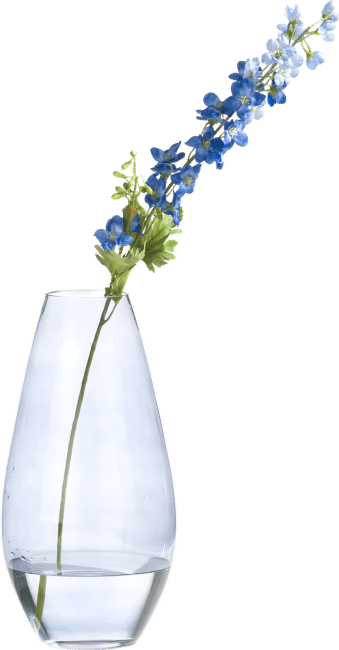 Happy@Home - Coco Maison - delphinium spray kunstbloem h77cm