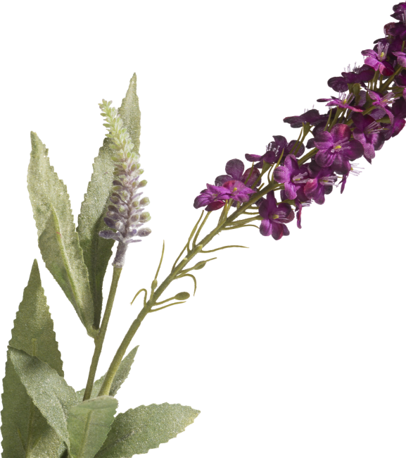 XOOON - Coco Maison - buddleja spray artificial flower h73cm