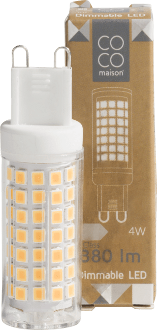 Happy@Home - Coco Maison - led bulb g9 / 4w dimmable