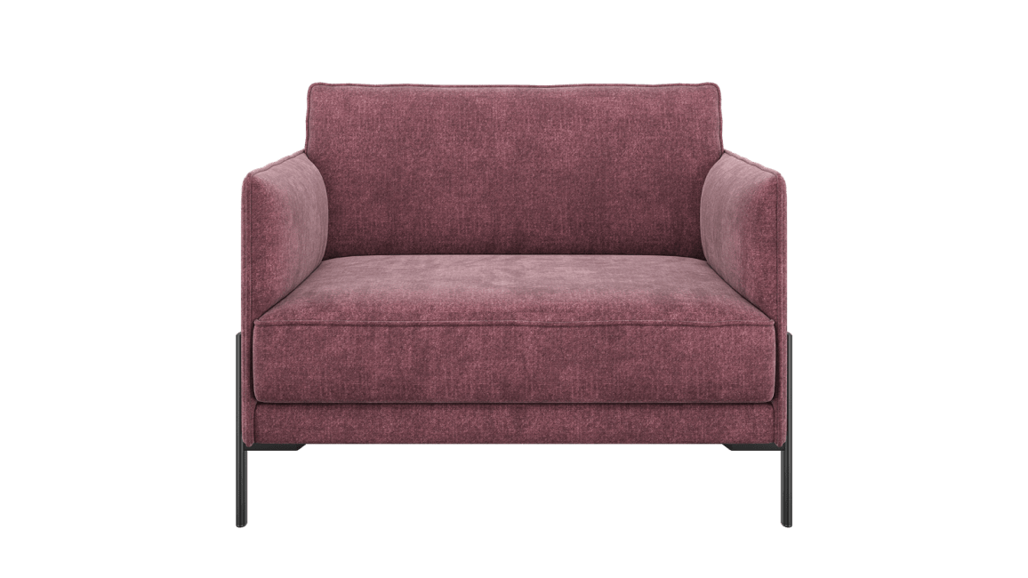 XOOON - Modena - design Scandinave - Canapes - loveseat (1.5-places)