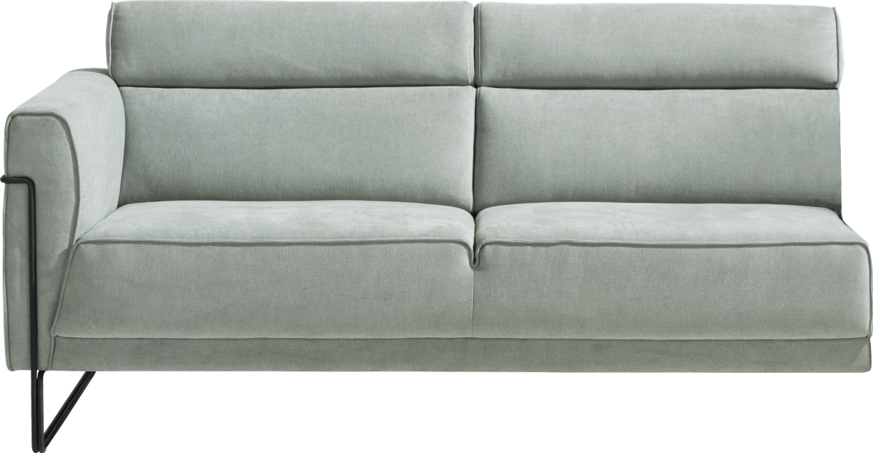 XOOON - Fiskardo - Skandinavisches Design - Sofas - 2-sitzer armlehne links